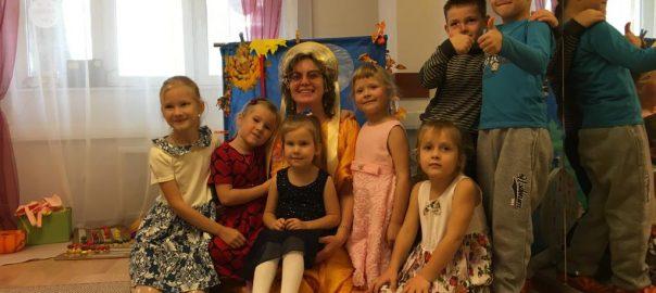 Фото с мероприятия для детей в центре БУКВА 15