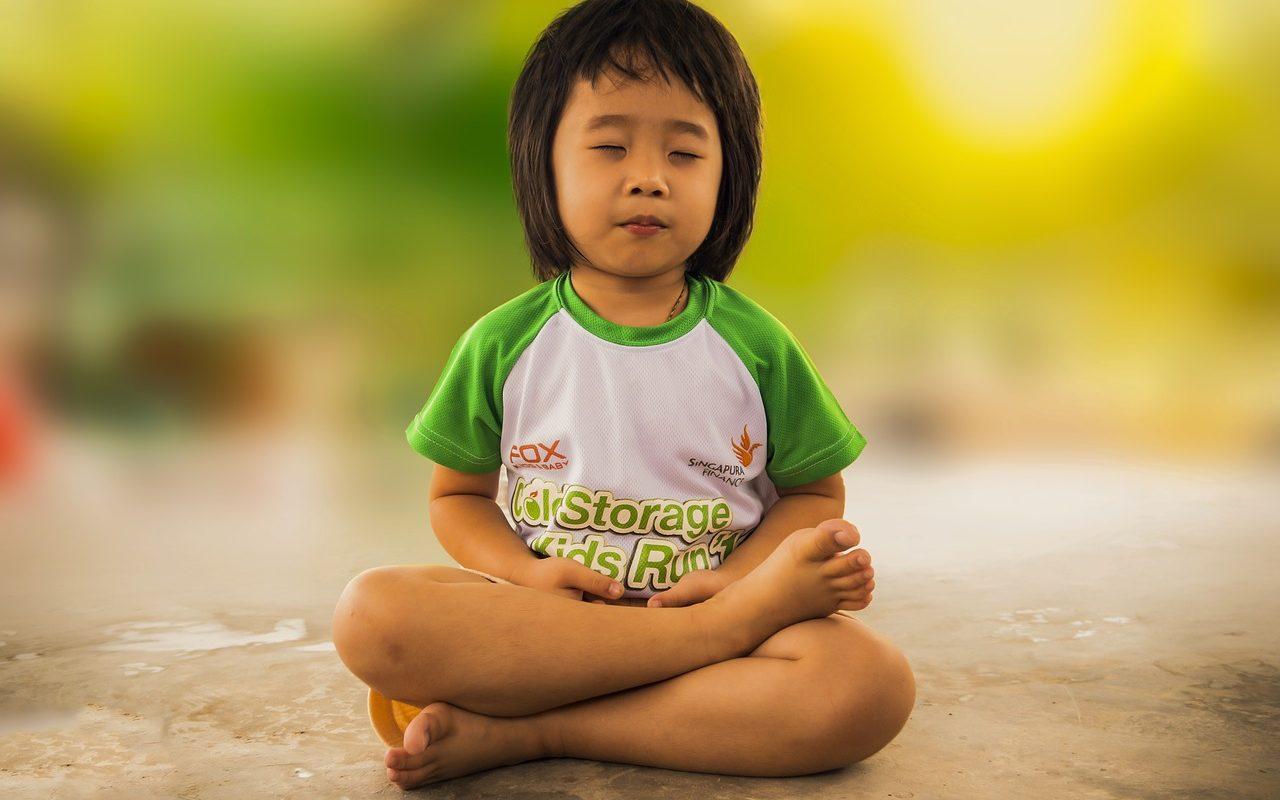 медитация у детей